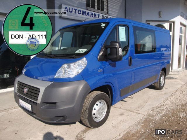 2008 Fiat  Ducato 30 seater L2H1 100 Multijet Doka box 5 Van / Minibus Used vehicle photo
