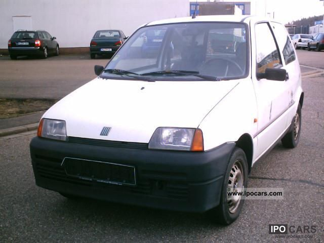 1996 Fiat  Cinquecento 0.9 i.e. Beach Other Used vehicle photo