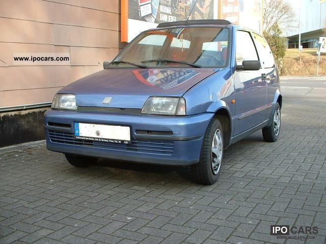 1996 Fiat  Cinquecento Soleil 0.9 Small Car Used vehicle photo