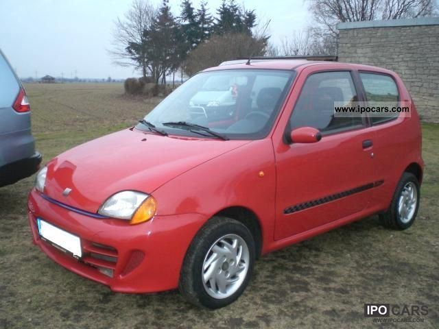 2000 Fiat  Seicento 1.1 Michael Schumacher Small Car Used vehicle photo