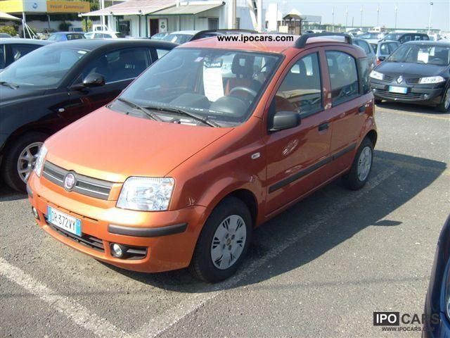 2008 fiat panda 2 1 dynamic car photo and specs. Black Bedroom Furniture Sets. Home Design Ideas