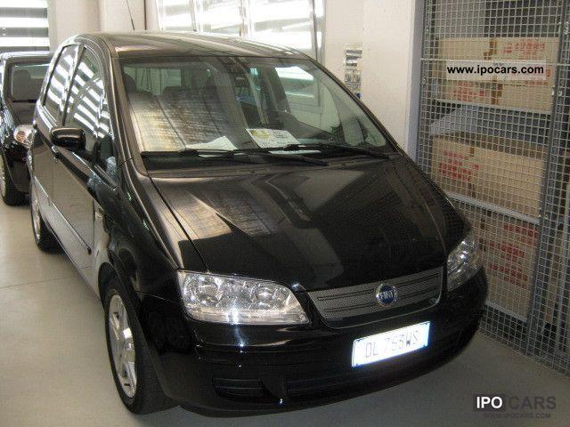 2007 Fiat  Idea 1.4 16V Black Motion Van / Minibus Used vehicle photo