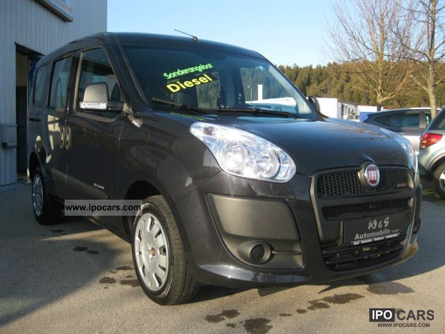 2010 Fiat  Doblo 1.6 16V Multijet Dynamic S & S 43% discount Van / Minibus Used vehicle photo