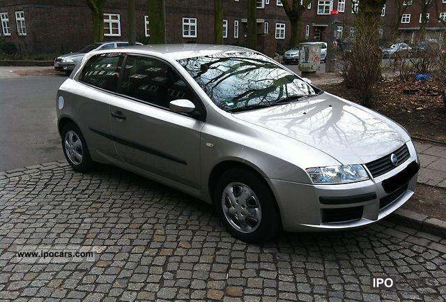 2001 Fiat  Stilo 1.6 16V Dynamic, air, Bordcomp. Technical approval .... Limousine Used vehicle photo
