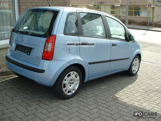 2004 fiat idea 1 3 multijet 16v diesel car photo and specs. Black Bedroom Furniture Sets. Home Design Ideas