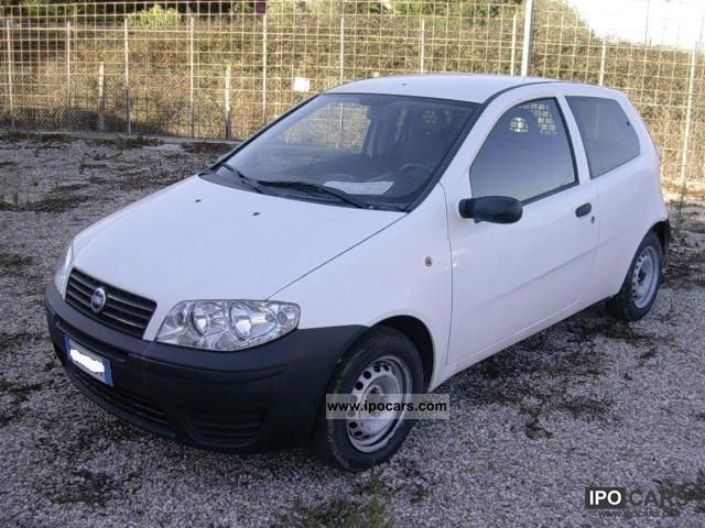 2006 Fiat  Punto Van 1.3 MTJ 70cv Small Car Used vehicle photo