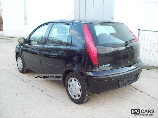 2001 Fiat Punto 1 9 Jtd Elx Climate