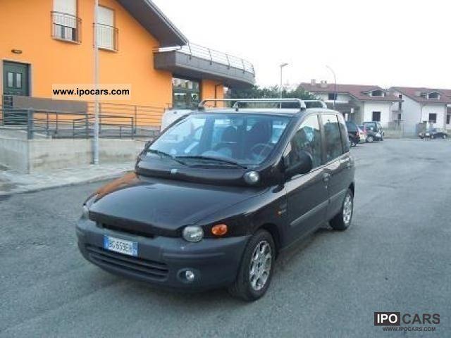 2000 Fiat  Multipla 1.9 MJT Limousine Used vehicle photo