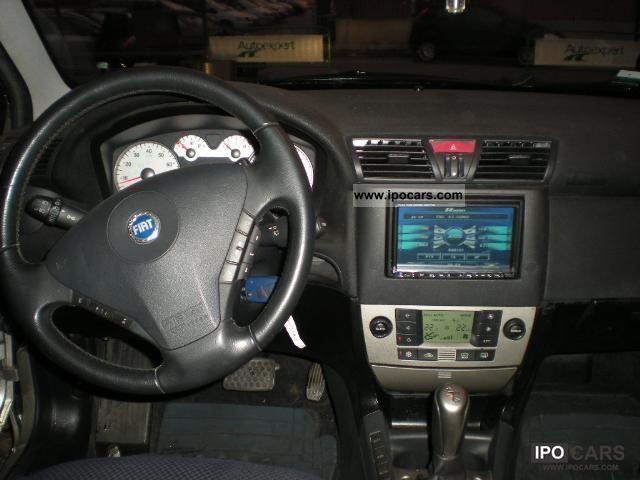 2002 Fiat Stilo 4 2 Selespeed 3p Car Photo And Specs