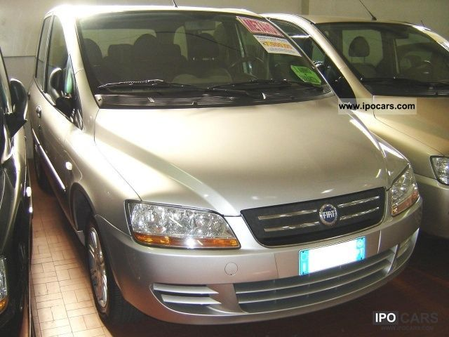 Fiat  1.6 16V Multipla Natural Power Dynamic 2004 Compressed Natural Gas Cars (CNG, methane, CH4) photo