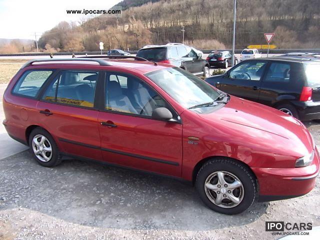 1999 Fiat  Marea Weekend 100 16V SX/2.Hand/Klima/D-3 Estate Car Used vehicle photo