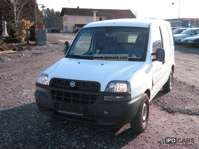 2002 fiat doblo cargo car photo and specs. Black Bedroom Furniture Sets. Home Design Ideas