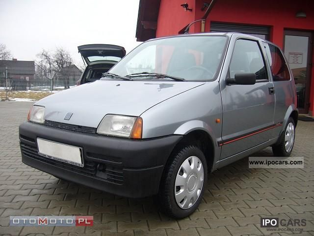 1996 Fiat  Cinquecento STAN BDB rejstr.1997 Other Used vehicle photo