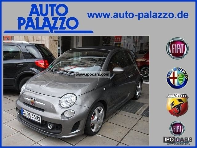 2011 Fiat  500 C 1.4 16V Abarth Cabrio / roadster Used vehicle photo