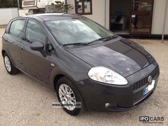 Fiat  Gr.Punto 1.4 77CV Dynam. Nat.Pow. 5pt 2009 Liquefied Petroleum Gas Cars (LPG, GPL, propane) photo