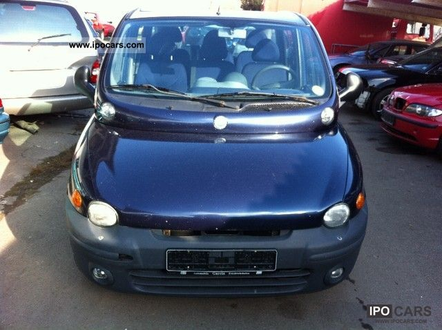 2002 Fiat  Multipla JTD 110 SX Van / Minibus Used vehicle photo