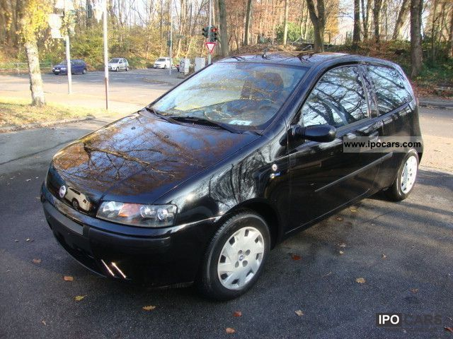 2002 fiat punto 1 2 petrol tuv new car photo and specs. Black Bedroom Furniture Sets. Home Design Ideas