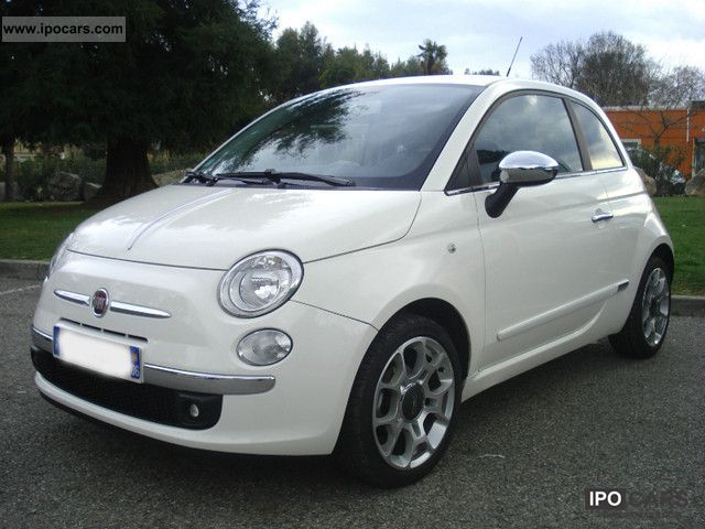 2009 fiat 500 1 3 multijet 75 ch dpf sport car photo and specs. Black Bedroom Furniture Sets. Home Design Ideas