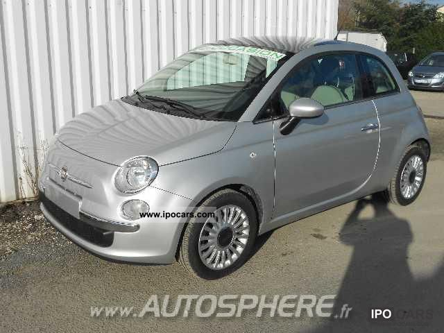 2010 Fiat 500 500 1.2 8V S & S LOUNGE Limousine Used vehicle photo