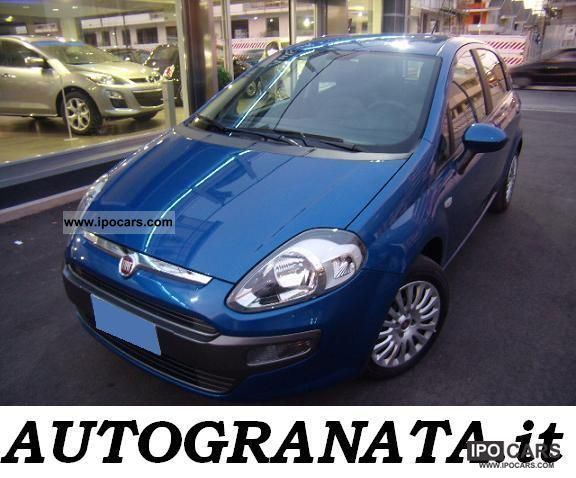 Fiat  Punto 1.4 GPL 77cv DYNAMIC 5P. 2010 Liquefied Petroleum Gas Cars (LPG, GPL, propane) photo