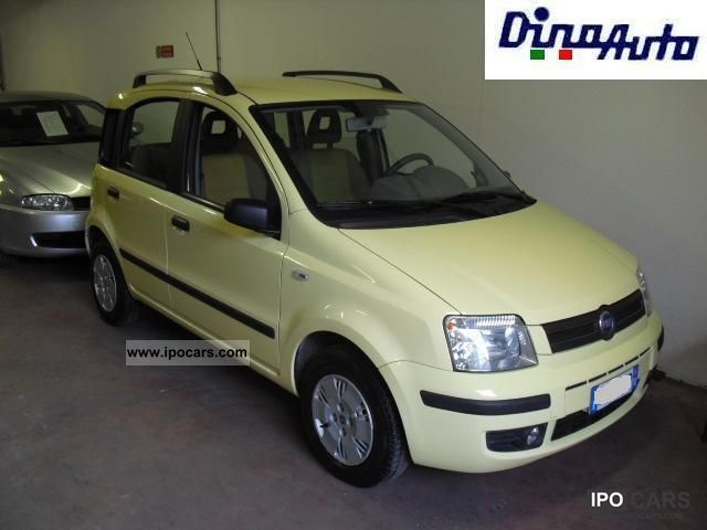 2006 fiat panda 1 2 dynamic car photo and specs. Black Bedroom Furniture Sets. Home Design Ideas