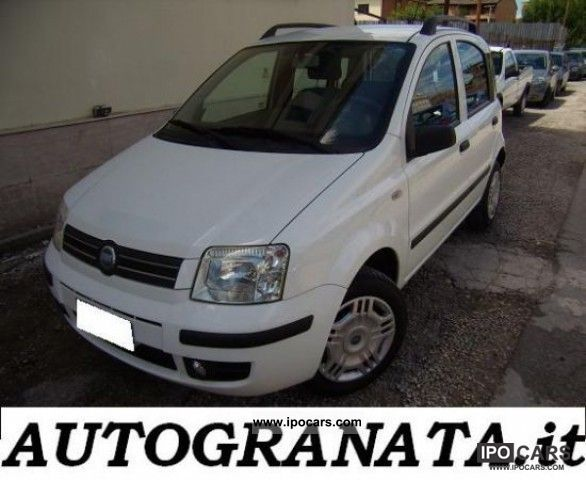 Fiat  Panda 1.2 DYNAMIC NATURAL POWER 2007 Compressed Natural Gas Cars (CNG, methane, CH4) photo