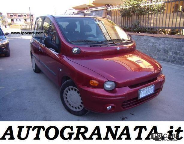 1999 Fiat  Multipla 1.9 JTD ELX 115cv Van / Minibus Used vehicle photo