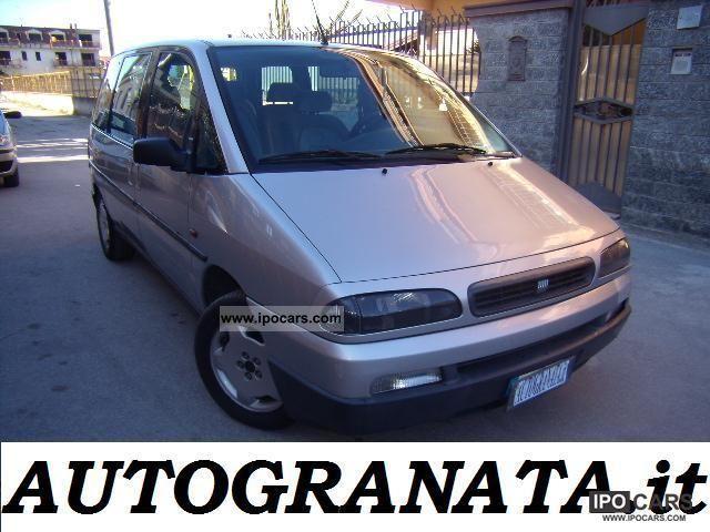 1999 Fiat  Ulysse 2.0 TD 110cv 7posti Van / Minibus Used vehicle photo