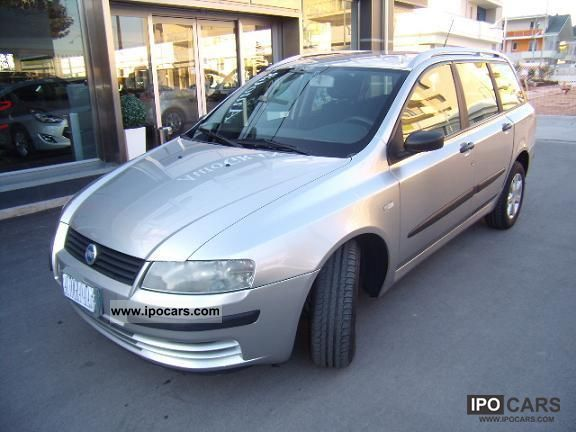 2003 fiat stilo 1 9 jtd dynamic sw 115cv car photo and specs. Black Bedroom Furniture Sets. Home Design Ideas