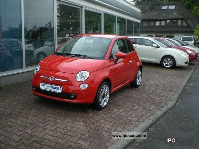 2010 Fiat  500 1.4 16v Sport Limousine Used vehicle photo