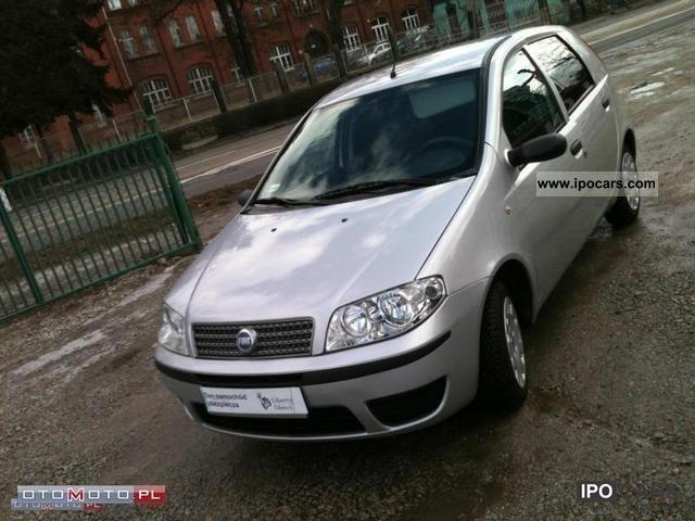 2007 Fiat  Punto Igla! SALON POL! MODEL2008 Small Car Used vehicle photo