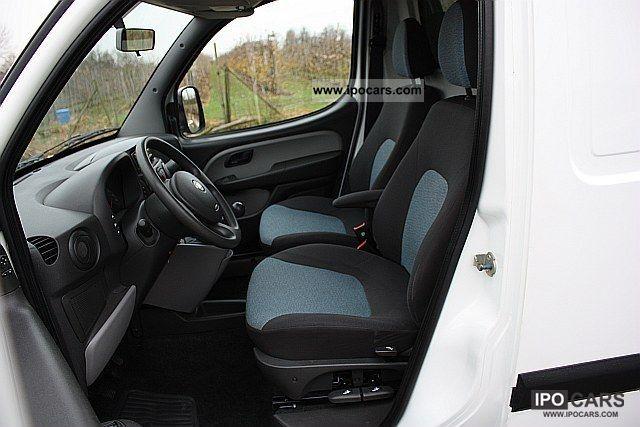 2008 Fiat  Doblo Cargo JTD climate. MAXI Long Box Van / Minibus Used vehicle photo