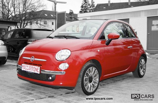 2010 Fiat  500 Cabrio 1.2 Lounge Air 16 \ Cabrio / roadster Used vehicle photo