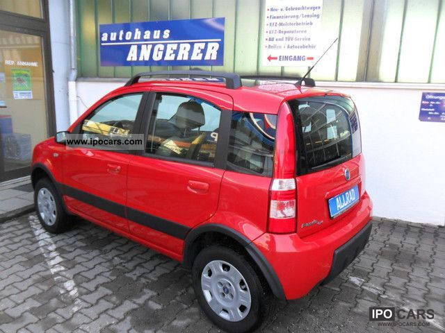 2006 fiat panda 1 3 multijet diesel 4x4 climbing car photo and specs. Black Bedroom Furniture Sets. Home Design Ideas