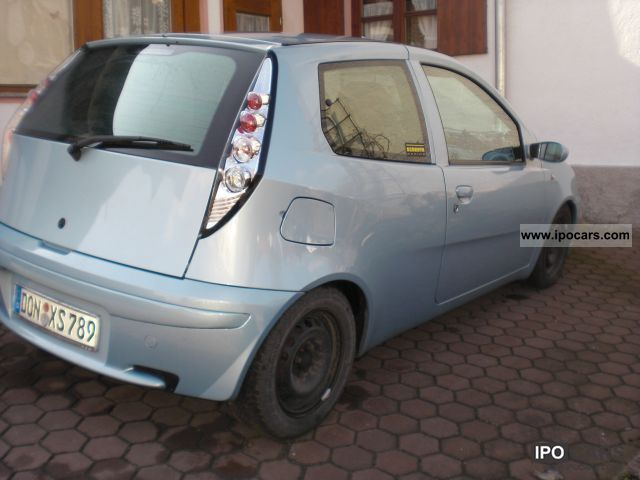 2002 fiat punto 1 9 jtd car photo and specs. Black Bedroom Furniture Sets. Home Design Ideas