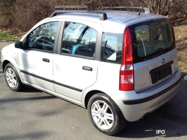 2006 fiat panda 1 3 multijet dynamic diesel dpf car photo and specs. Black Bedroom Furniture Sets. Home Design Ideas