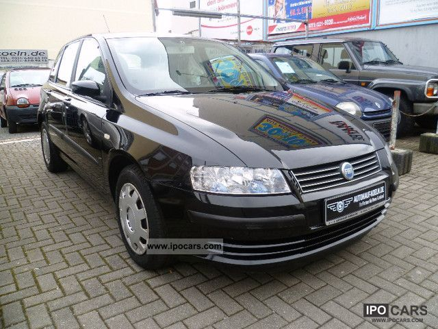 2002 fiat stilo 1 6 16v only ii hand air car photo and specs. Black Bedroom Furniture Sets. Home Design Ideas