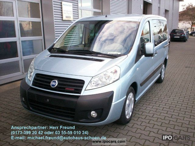 2008 Fiat  Scudo L1 (5-Si). Panorama Executive Estate Car Used vehicle photo