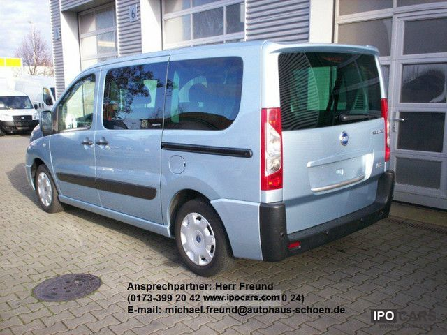2008 fiat scudo l1 5 si panorama executive car photo and specs. Black Bedroom Furniture Sets. Home Design Ideas