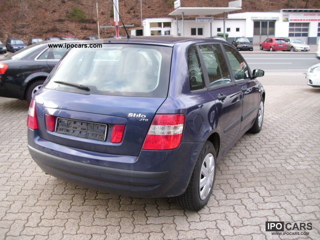 2003 fiat stilo 1 9 jtd 80 climate 2 hand car photo and. Black Bedroom Furniture Sets. Home Design Ideas