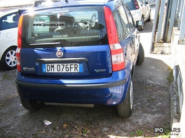 Fiat  Natural Power Panda 1.2 Dynamic. 2007 Compressed Natural Gas Cars (CNG, methane, CH4) photo