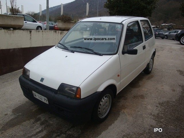 1998 Fiat  Cinquecento 900 Limousine Used vehicle photo