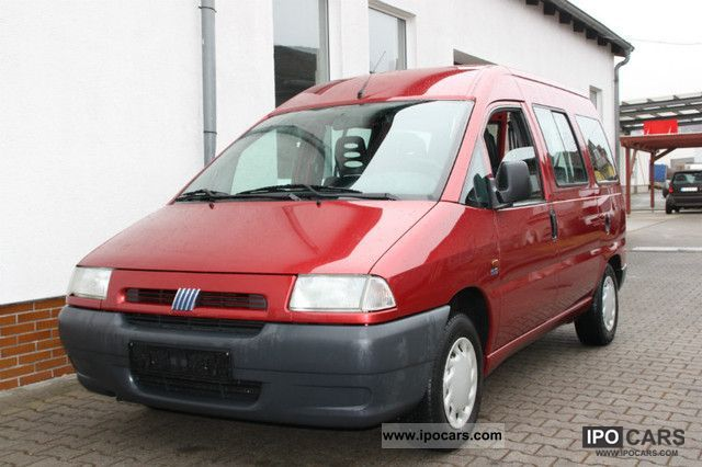 1999 Fiat  Scudo 1.9 TD Estate Car Used vehicle photo