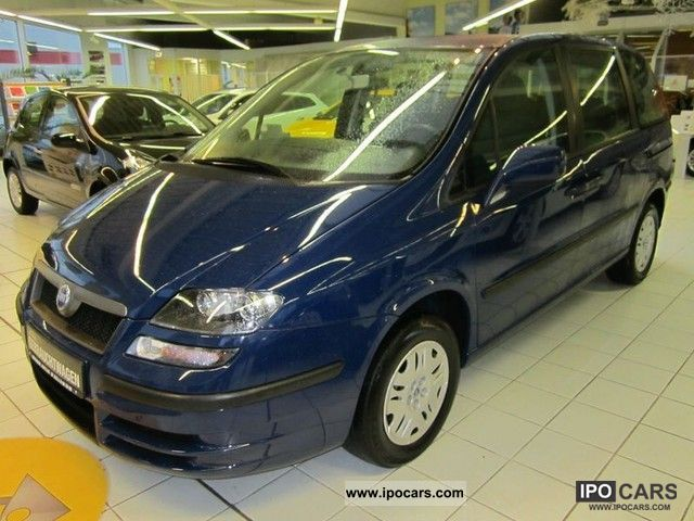 2003 Fiat  Ulysse 2.0 16V Van / Minibus Used vehicle photo
