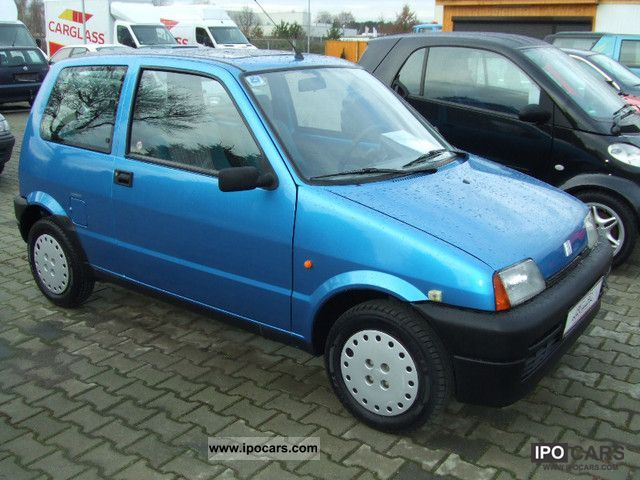 1994 Fiat  Cinquecento 0.9 i.e. Small Car Used vehicle photo