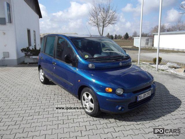 2001 Fiat  Multipla JTD 110 SX Van / Minibus Used vehicle photo