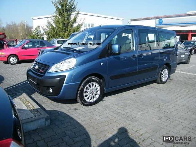 2010 Fiat  Scudo Panorama Executive air spring air automation Van / Minibus Employee's Car photo
