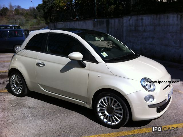 2009 fiat 500 car photo and specs. Black Bedroom Furniture Sets. Home Design Ideas