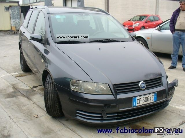 2003 fiat stilo multi wagon 1 9 jtd dynamic car photo and specs. Black Bedroom Furniture Sets. Home Design Ideas