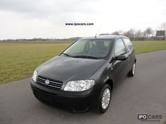 2005 Fiat  1.2 * Punto Org.90Tkm * Servo * Aluminum * New Year * Tüv: 2005 * Small Car Used vehicle photo